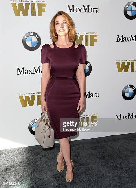 Actress Sharon Lawrence attends Women In Film 2016 Crystal Lucy Awards Presented by Max Mara and BMW at The Beverly Hilton on June 15 2016 in Beverly...