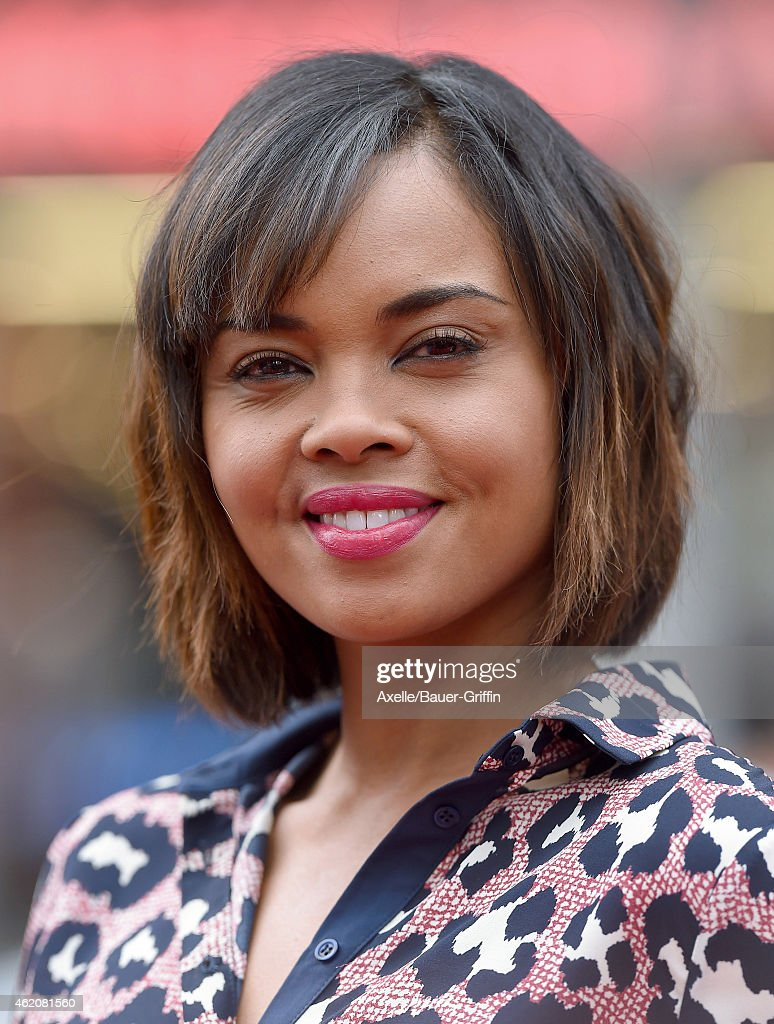 Actress Sharon Leal arrives at the Los Angeles premiere of 'Paddington' at TCL Chinese Theatre IMAX on January 10, 2015 in Hollywood, California.