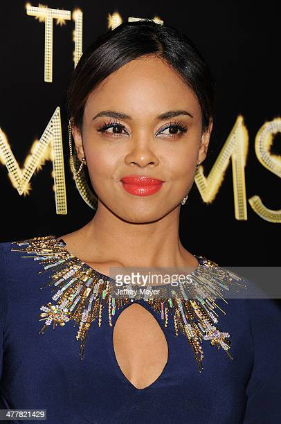 Actress Sharon Leal arrives at the Los Angeles premiere of Tyler Perry's 'The Single Moms Club' at the ArcLight Cinemas Cinerama Dome on March 10...