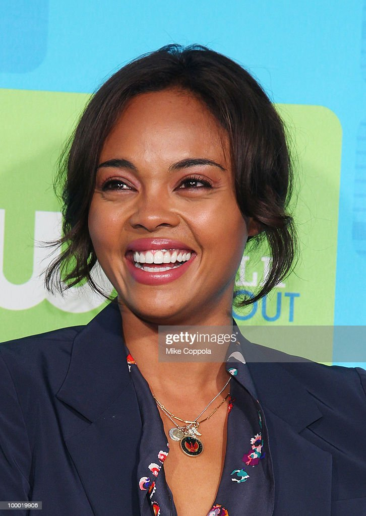 Actress Sharon Leal attends the 2010 The CW UpFront at Madison Square Garden on May 20, 2010 in New York City.