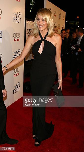 Actress Sharon Stone arrives at the AFI FEST presented by Audi opening night gala of Bobby at the Grauman's Chinese Theatre on November 1 2006 in...