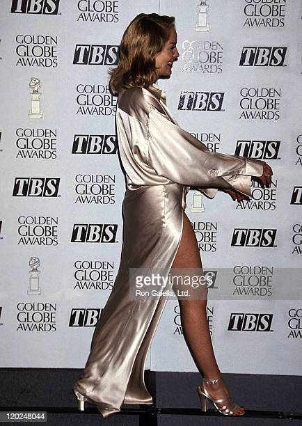Actress Sharon Stone attends the 52nd Annual Golden Globe Awards on January 21 1995 at Beverly Hilton Hotel in Beverly Hills California