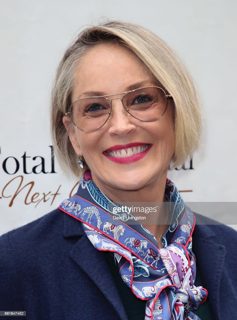 Actress Sharon Stone attends the Associates for Breast and Prostate Cancer Studies' Annual Mother's Day Luncheon at the Four Seasons Hotel Los Angeles at Beverly Hills on May 10, 2017 in Los Angeles, California.