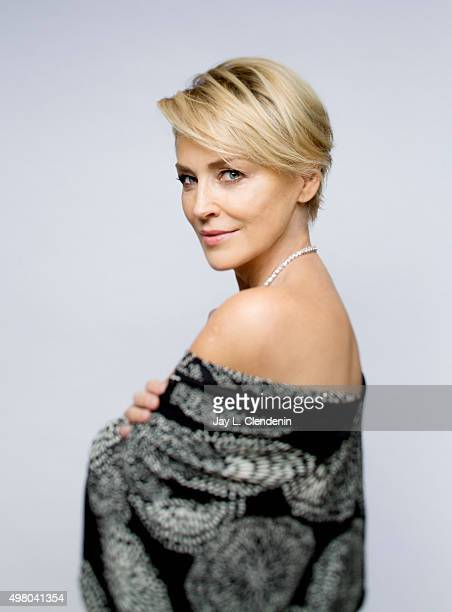 Actress Sharon Stone is photographed for Los Angeles Times on November 3, 2015 in Los Angeles, California. PUBLISHED IMAGE. CREDIT MUST READ: Jay L...
