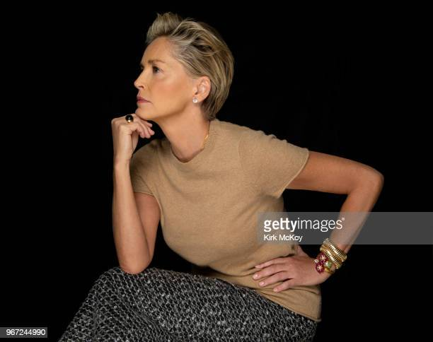 Actress Sharon Stone is photographed for Los Angeles Times on April 25 2018 in Hollywood California PUBLISHED IMAGE CREDIT MUST READ Kirk McKoy/Los...