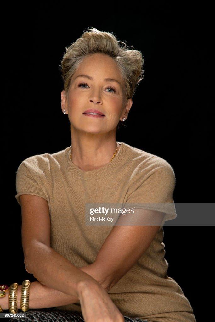 Sharon Stone, Los Angeles Times, May 24, 2018