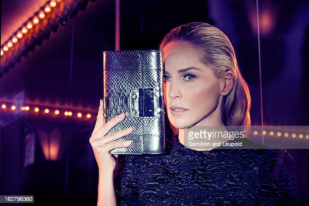 Actress Sharon Stone is photographed for on May 11 2012 in Los Angeles California PUBLISHED IMAGE