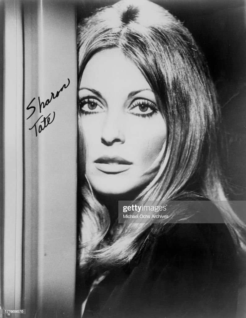 Actress Sharon Tate poses for a portrait in circa 1963.