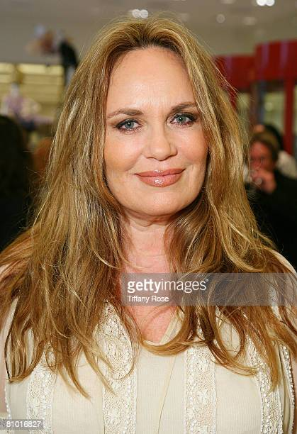Actress Shauna Brittenham poses at the Launch Party for Heather Thomas' Debut Novel Trophies at Barney's in Beverly Hills on May 6 2008 Shauna...