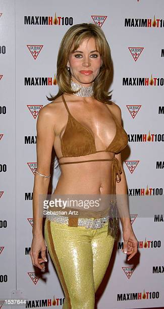 Actress Shaune Bagwell arrives at Maxim's Hot100 party April 25 2002 in Los Angeles CA