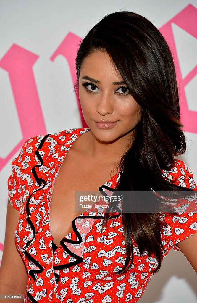 Actress Shay Mitchell and Juicy Couture Celebrate The Launch of 'Couture La La' held at the Juicy Couture Store, Rodeo Drive on January 30, 2013 in Beverly Hills, California.