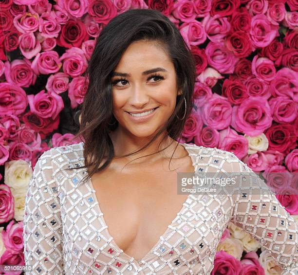Actress Shay Mitchell arrives at the Open Roads World Premiere Of Mother's Day at TCL Chinese Theatre IMAX on April 13 2016 in Hollywood California