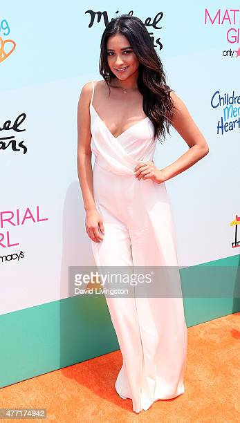Actress Shay Mitchell attends Children Mending Hearts 7th Annual Empathy Rocks Fundraiser at a private estate on June 14 2015 in Malibu California