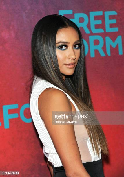 Actress Shay Mitchell attends Freeform 2017 Upfront at Hudson Mercantile on April 19 2017 in New York City