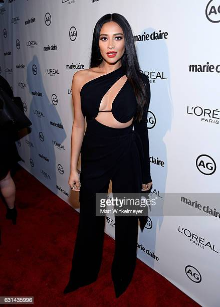Actress Shay Mitchell attends Marie Claire's Image Maker Awards 2017 at Catch LA on January 10 2017 in West Hollywood California