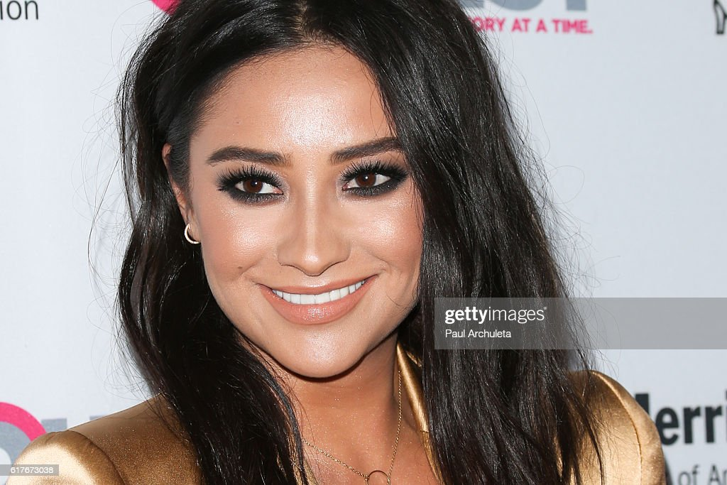 Actress Shay Mitchell attends the 12th annual Outfest Legacy Awards at The Vibiana on October 23, 2016 in Los Angeles, California.