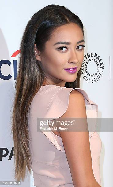"""Actress Shay Mitchell attends The Paley Center for Media's PaleyFest 2014 Honoring """"Pretty Little Liars"""" at the Dolby Theatre on March 16, 2014 in..."""
