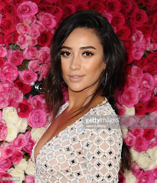 Actress Shay Mitchell attends the premiere of 'Mother's Day' at TCL Chinese Theatre IMAX on April 13 2016 in Hollywood California