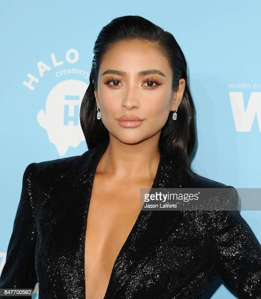 Actress Shay Mitchell attends Variety and Women In Film's 2017 preEmmy celebration at Gracias Madre on September 15 2017 in West Hollywood California
