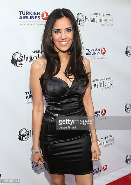 Actress Sheetal Sheth attends the Indian Film Festival of Los Angeles Opening Night Gala for Gangs Of Wasseypur at ArcLight Cinemas on April 9 2013...