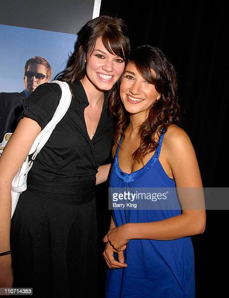 Actress Sheila Van and actress Rachel Melvin attend the NBC and Venice Magazine party for new series 'Life' held at Celadon on September 26 2007 in...
