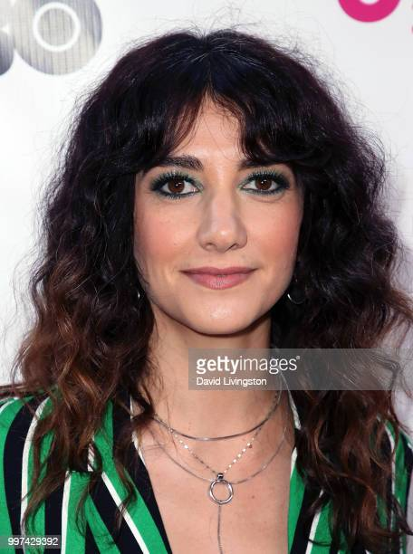 Actress Sheila Vand attends the 2018 Outfest Los Angeles opening night gala screening of 'Studio 54' at the Orpheum Theatre on July 12 2018 in Los...