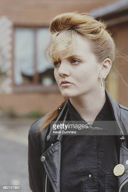 Actress Shelagh O'Hara who plays Karen Grant in the British TV soap opera 'Brookside' circa 1985