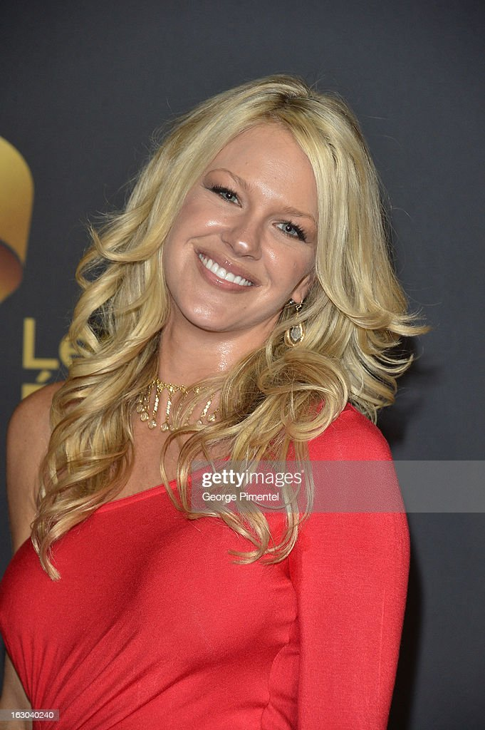 Actress Shelby Fenner arrives at the Canadian Screen