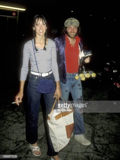 Actress Shelley Duvall and boyfriend on September 17, 1979 arriving at Sherman Way Skating Rink in Reseda, California.