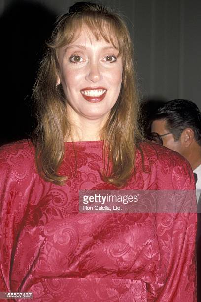 Actress Shelley Duvall attends the American Ireland Fund Premiere Heritage Awards Dinner on November 11, 1988 at Beverly Hilton Hotel in Beverly...