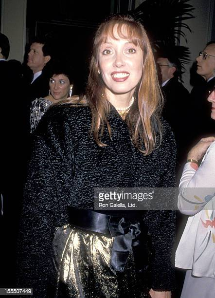 Actress Shelley Duvall attends The California Salute to Presidant Ronald Reagan and Nancy Reagan on January 4, 1989 at Beverly Hilton Hotel in...