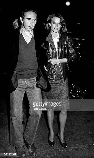 Actress Shelley Hack and date attend the private party for 'Yankees' on October 20 1981 at Jack Martin's Restaurant in New York City