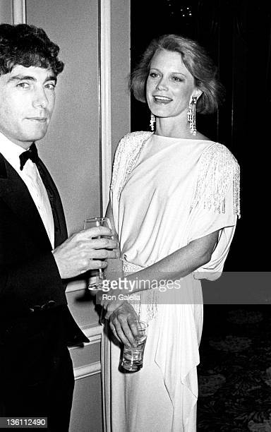 Actress Shelley Hack and husband Harry Winer attend 37th Annual Director's Guild of America Awards on March 9 1985 at the Beverly Hilton Hotel in...