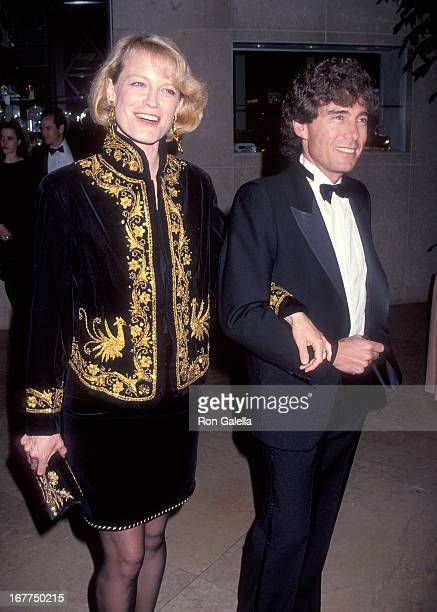 Actress Shelley Hack and husband Harry Winer attend the 45th Annual Directors Guild of America Awards on March 6 1993 at the Beverly Hilton Hotel in...