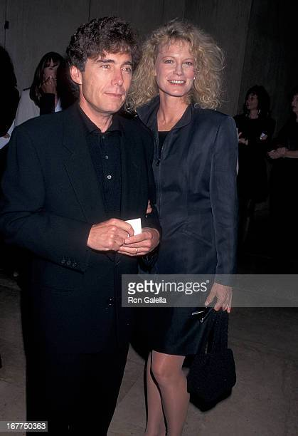Actress Shelley Hack and husband Harry Winer attend the Liberty Hill Foundation's 14th Annual Upton Sinclair Awards on May 21 1996 at the Beverly...