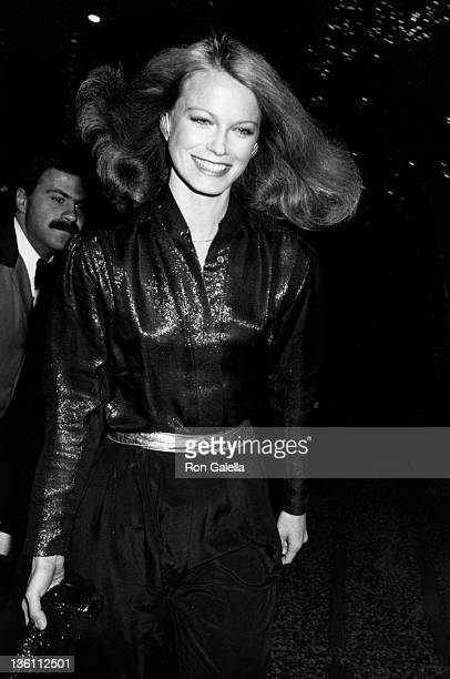 Actress Shelley Hack attends Charlie's Angels Valentine's Day Party on February 10 1980 at the Beverly Wilshire Hotel in Beverly Hills California