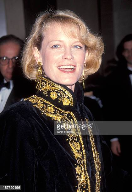 Actress Shelley Hack attends the 45th Annual Directors Guild of America Awards on March 6 1993 at the Beverly Hilton Hotel in Beverly Hills California