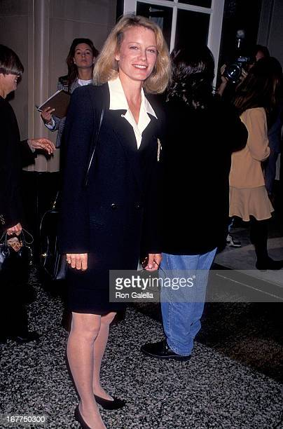 Actress Shelley Hack attends the Hollywood Women's Political Committee's 'Making a Difference' Luncheon to Support Democrat Kathleen Brown's...