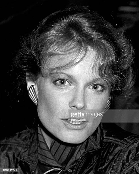 Actress Shelley Hack attends the performance of 'Barnum' on October 13 1981 at the St James Theater in New York City