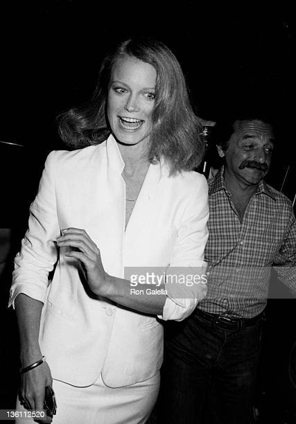 Actress Shelley Hack attends the taping of 'The Merv Griffin Show' on October 1 1979 at Merv Griffin Studios in Beverly Hills California