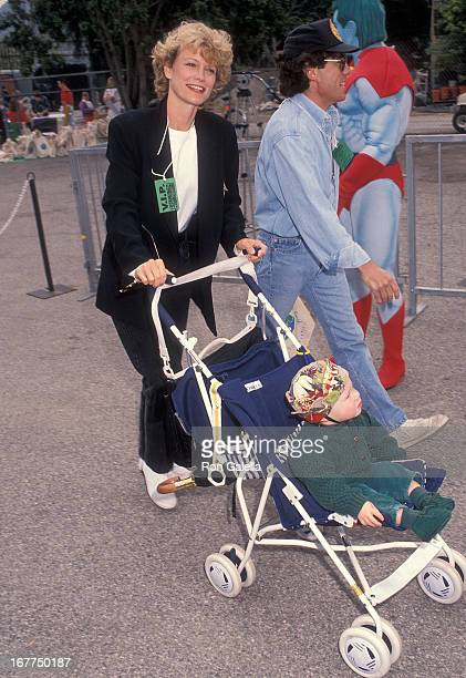 Actress Shelley Hack husband Harry Winer and daughter Devon Winer attend the Permanent Charities Committee of the Entertainment Industries' Third...