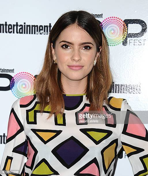 Actress Shelley Hennig attends Entertainment Weekly's Popfest at The Reef on October 30 2016 in Los Angeles California