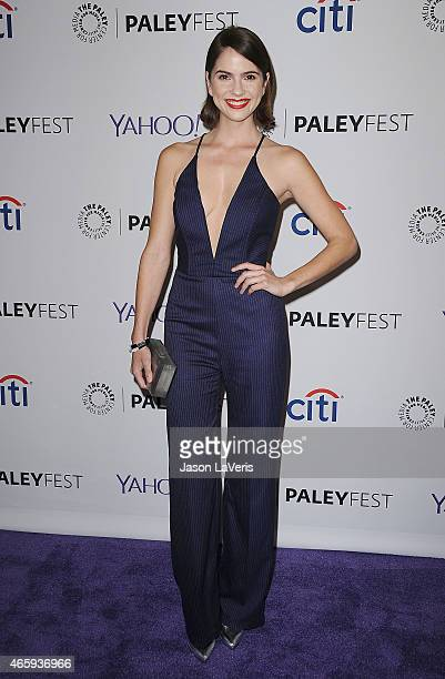 Actress Shelley Hennig attends the 'Teen Wolf' event at the 32nd annual PaleyFest at Dolby Theatre on March 11 2015 in Hollywood California