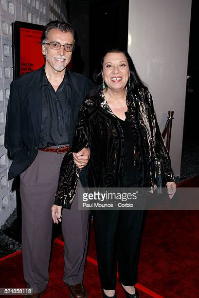Actress Shelley Morrison and husband Walter Dominguez arrive at the 40th anniversary celebration for the Arclight Cinerama Dome and MGM's new 40th...