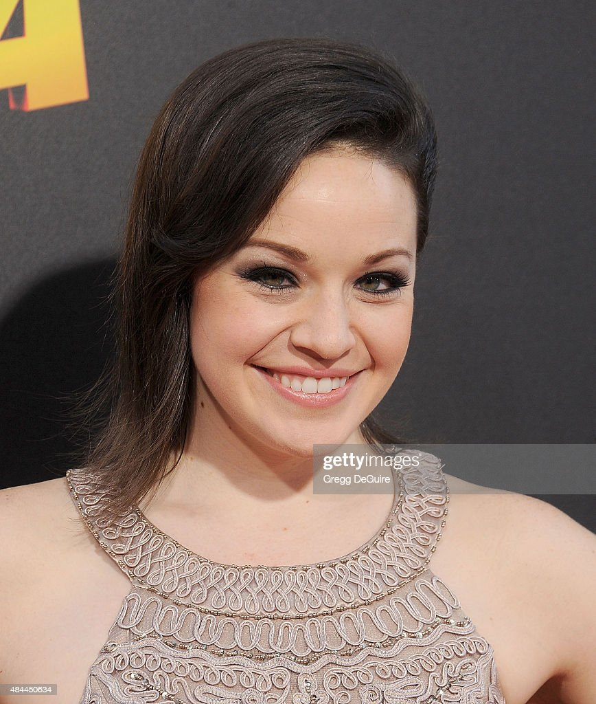 Actress Shelley Regner arrives at the premiere of Lionsgate's 'American Ultra' at Ace Theater Downtown LA on August 18, 2015 in Los Angeles, California.