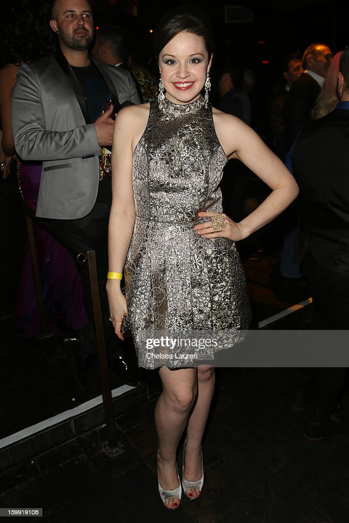 Actress Shelley Regner attends 'Rupaul's Drag Race' season 5 premiere party at The Abbey on January 22, 2013 in West Hollywood, California.