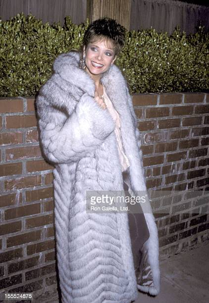 Actress Shelley Taylor Morgan attends the Love Is Feeding Everyone Benefit on February 11 1986 at Kathy Gallagher's Restaurant in Los Angeles...