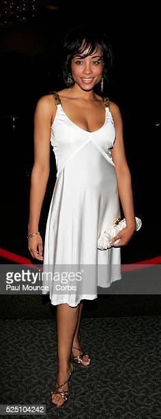 Actress Shelli Boone arrives at the 16th Annual NAACP Theatre Awards held at the Directors Guild of America