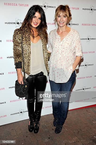 Actress Shenae Grimes and designer Rebecca Taylor attend the Rebecca Taylor Spring 2011 fashion show after party during MercedesBenz Fashion Week at...