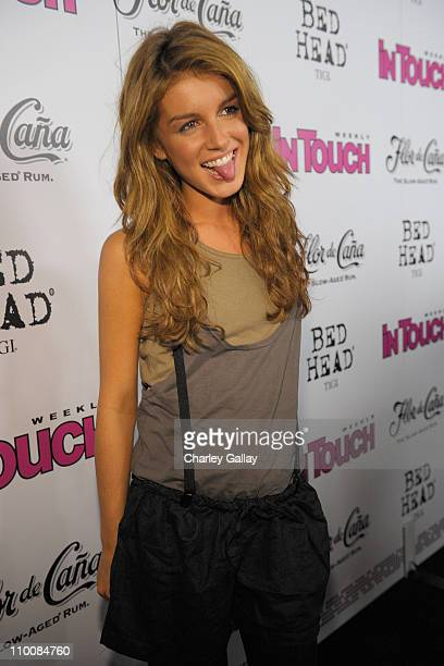 Actress Shenae Grimes arrives at In Touch Weekly's ICONS IDOLS CELEBRATION with performances by Good Charlotte Leona Lewis and The Veronicas and...
